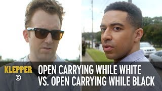 Open Carrying While White vs. Open Carrying While Black - Klepper