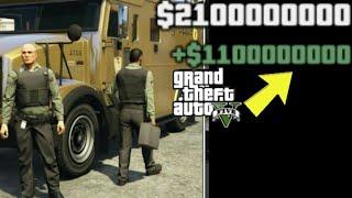 How To Get Inside The Golden Bank Vault and Get Unlimited Money in GTA 5! (Golden Money Truck)