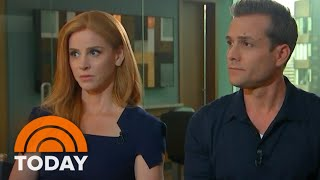 TODAY - Sarah Rafferty & Gabriel Macht on Royal Wedding