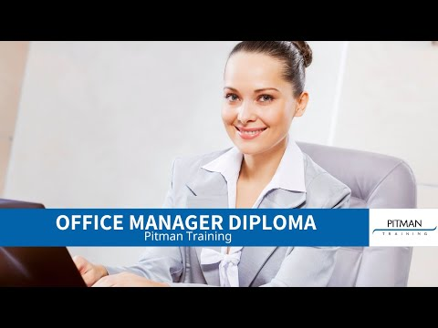 Office Manager Diploma - YouTube