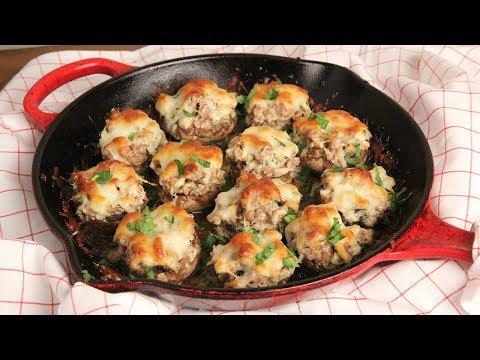 Super Creamy Stuffed Mushrooms (Low Carb) Episode 1240