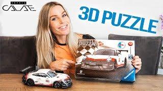 Das neue Porsche 911 GT3 Cup 3D Puzzle von Ravensburger