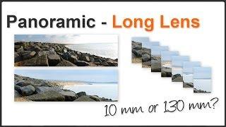 Panoramics with a long lens