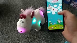 Nici Einhorn Theodor & Friends Rainbow Bluetooth Lautsprecher Gute Nacht Geschichten Musik hören