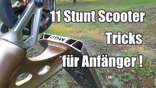 Die 11 einfachsten Stunt Scooter Tricks für Anfänger!