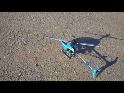 Р/у модель вертолёта E-Sky HONEY BEE KING-3 - пробный полёт, демострация возможностей