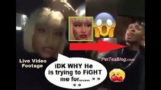 Nicki Minaj Fan tried to Fight her after Saturday Night Live LOLLiPOP 😱 #SNL - Video Youtube
