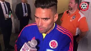 Entrevistas despues del partido de Colombia vs argentina.
