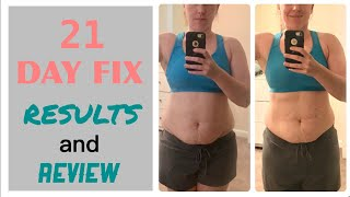 BEACHBODY 21 DAY FIX REVIEW AND RESULTS