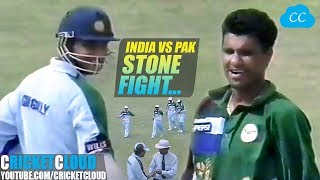 INDvPAK Real Battle with Bat Ball & Some Stones | One of the Best Match you can Ever Watch !!