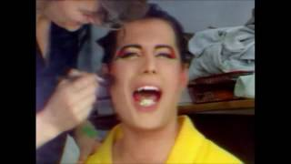 Making of 'The Great Pretender'   Freddie Mercury 1987