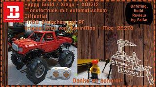 Ein echt cooler Monstertruck von KevinMoo und unautorisert umgesetzt von Happy Build