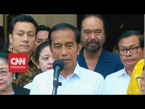 Jokowi Klaim Unggul Hasil Quick Count