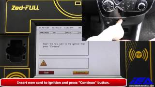 Renault Clio IV key programming with Zed-FULL