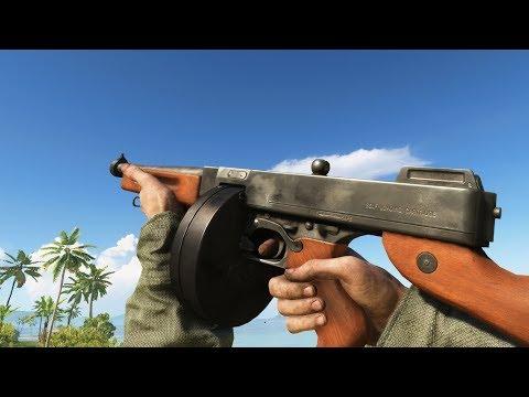 戰地風雲5所有武器裝彈  動畫及聲音