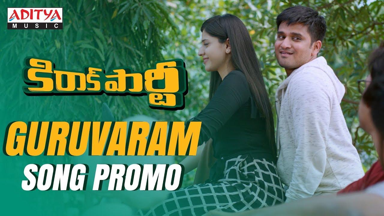 Guruvaram Video Song Promo HD | Kirrak Party Movie Songs | Nikhil | Samyuktha
