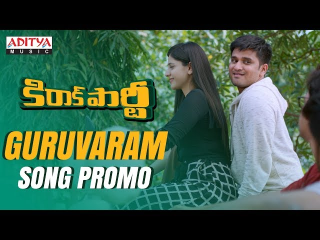 Guruvaram Video Song Promo HD | Kirrak Party Movie Songs | Nikhil | Samyuktha