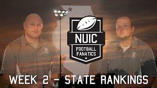 Week 2 - State Rankings