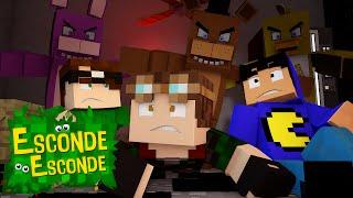 Minecraft: QUARTO FIVE NIGHTS AT FREDDY'S! (Esconde-Esconde)