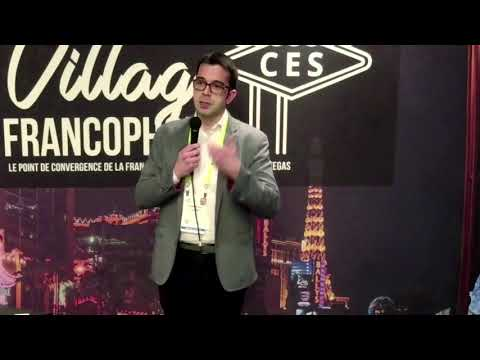 Pitch at the CES of Las Vegas (French)