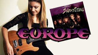 Europe - Superstitious Guitar Solo Cover