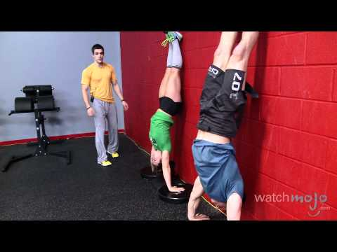 CrossFit Workout: Exercises – Handstand Pushups, Double Unders