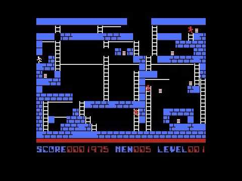 Lode Runner II (1985, MSX, Compile, Doug Smith)