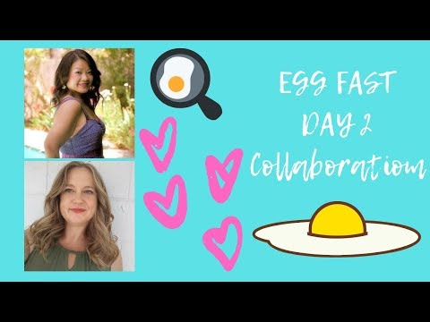Keto Egg Fast Day 2 | Egg Fast Collaboration with Life Adventures and Keto