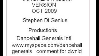 OUT BREAK RIDDIM VERSION **MHAD** **OCT 2009** {DI Genius}Dancehall Generals Intl