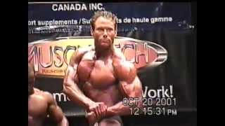 preview picture of video 'Dan Kennedy - Pre-judging at Kingston Championships 2001'