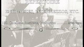 White Star Line Music 180.- Cavalieria Rusticana, Intermezzo