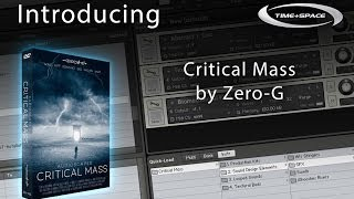 Critical Mass provides you with a vast expanse of new and experimental sound materials generated using the most leading-edge digital signal processing techni...