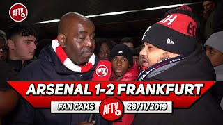 Arsenal 1-2 Frankfurt   The Board Are Mugs If Emery Isn't Sacked Today! (Troopz)