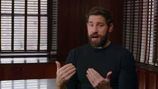 A QUIET PLACE Behind The Scenes Interview - John Krasinski - Video Youtube