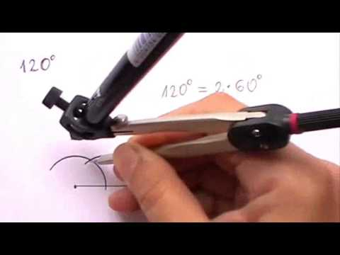 Constructing an Angle of 120 degrees