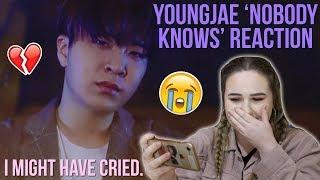 YOUNGJAE GOT7 (갓세븐) 'NOBODY KNOWS' MV REACTION