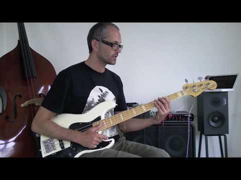 1. Slap bass lesson - beginner/intermediate
