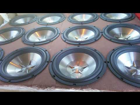 Clarion subs pushed by a jvc 50x2 amp..