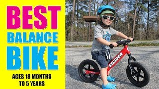 Best Balance Bike - Strider - 12 Sport Balance Bike, Ages 18 Months to 5 Years