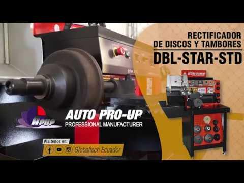 RECTIFICADOR DE DISCOS Y TAMBORES DBL-STAR-STD - RECTIFICADO DE TAMBOR