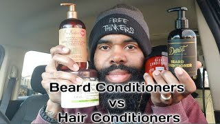 Beard Conditioner Vs. Hair Conditioner | Which One Is For You