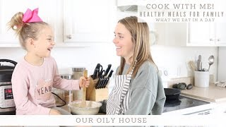 COOK WITH ME | What We Eat In a Day | Healthy Meal Ideas