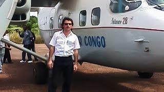 preview picture of video 'Перелёт Казахстан-Конго и работа там.'