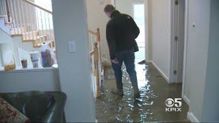 East Bay Car Crash Shears Hydrant Causing Mudslide That Floods Homes
