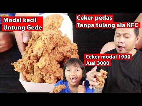 Ceker pedas tanpa tulang ala KFC Ide bisnis menguntungkan
