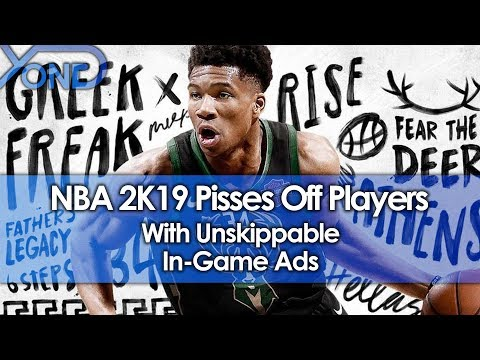 NBA 2K19 Pisses Off Players With Unskippable In-Game Ads