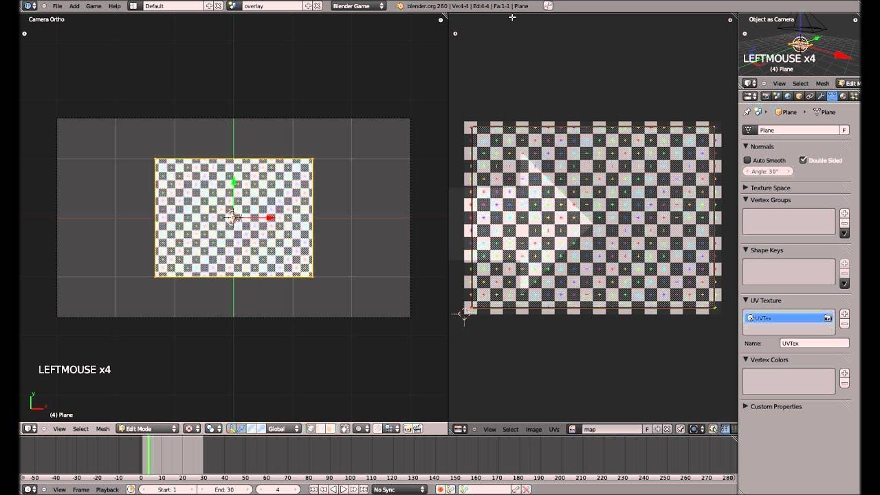 Karte / Minimap - Blender 3D Game Engine Tutorial