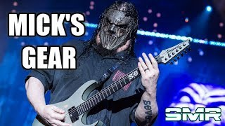 MICK THOMSON'S GEAR THROUGH THE YEARS