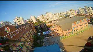 Sunset flight , ground flight take 6. (larva x fpv drone)