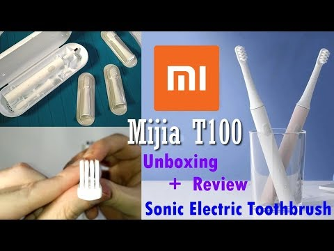 Xiaomi Mijia T100 Sonic Electric Toothbrush | Unboxing, Review